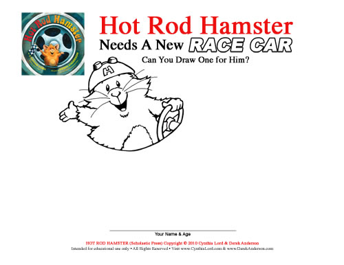Hot Rod Hamster Activity