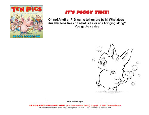 Ten Pigs Activity